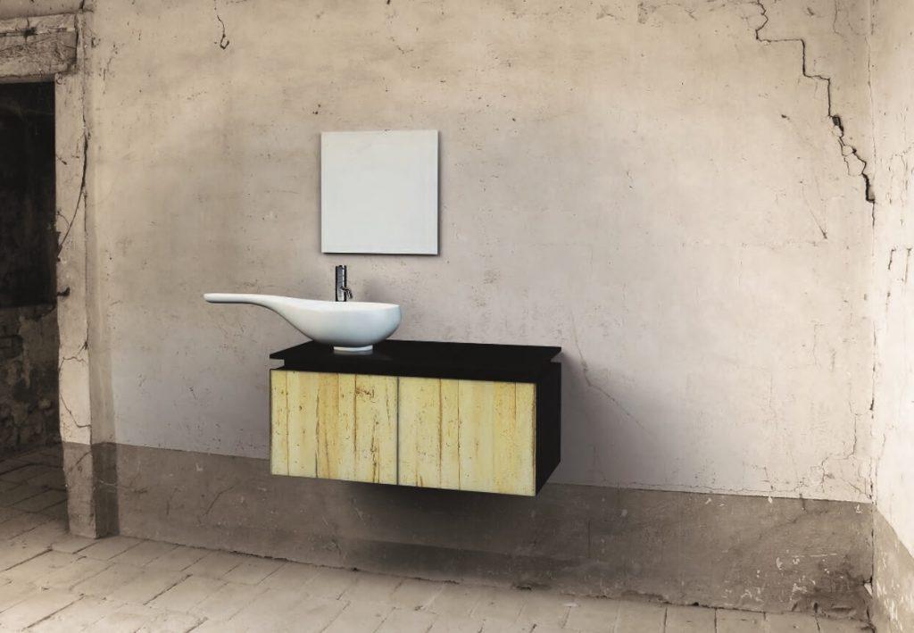 Bagno con lavandino modello Spoon - Berloni Fabio