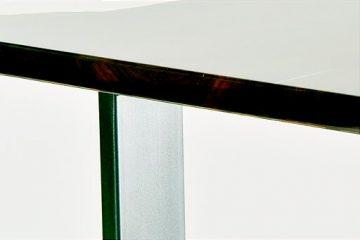 Tavolo in vetro di resina epossidica