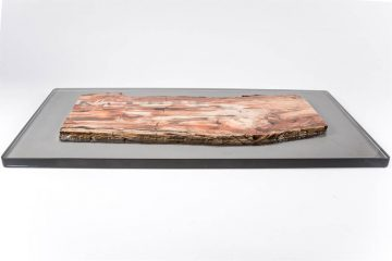 Rivestimento di un tavolo in resina epossidica